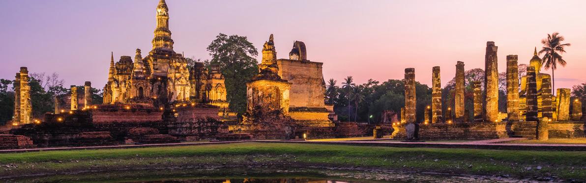 Voyage Découverte en Thaïlande - Visite de Sukhothai, première capitale du Siam