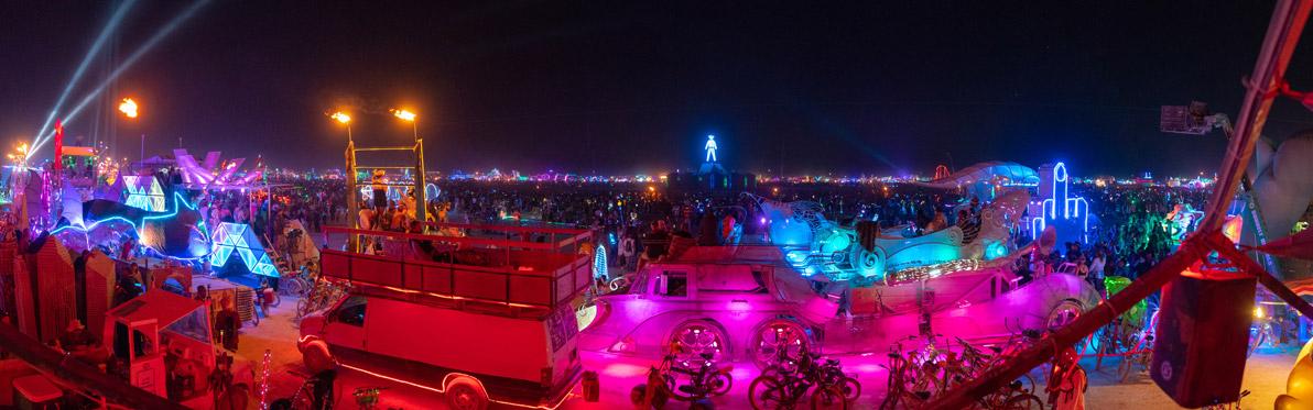 Voyage Découverte aux Etats-Unis - Burning Man, un Festival Déjanté dans le Nevada