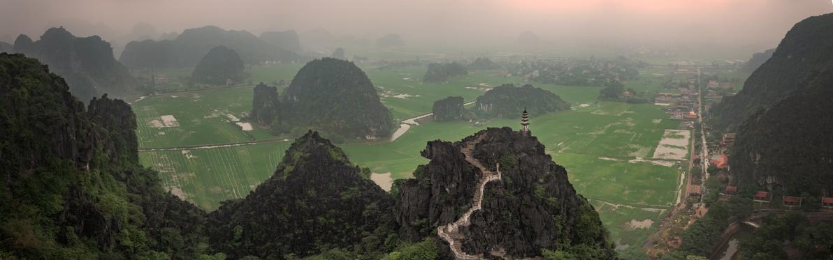 Voyage Découverte au Vietnam - Tam Coc, la Baie d'Along Terrestre