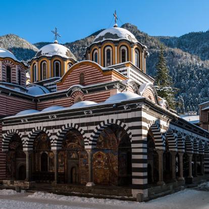 Voyage en Bulgarie - Le Rila et le Pirin sous la neige