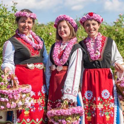 Voyage en Bulgarie - Festival des Roses Karlovo