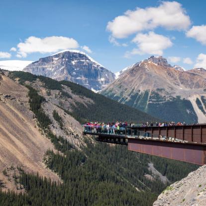 Voyage au Canada : L'Express Des Rocheuses