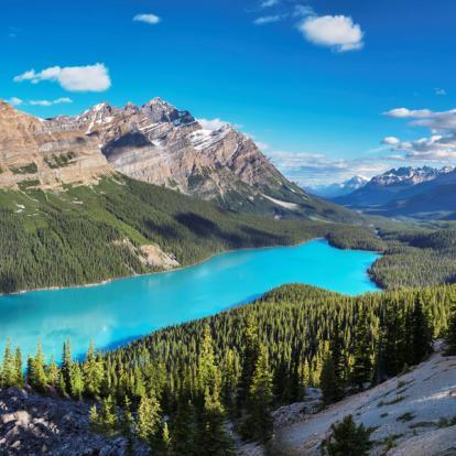 Circuit au Canada : L'Express Des Rocheuses