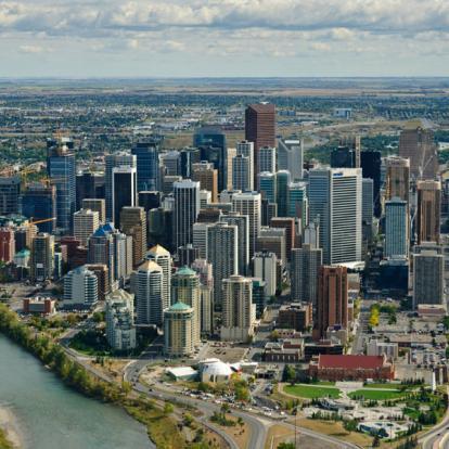 Voyage au Canada : A La Conquete de l'Ouest