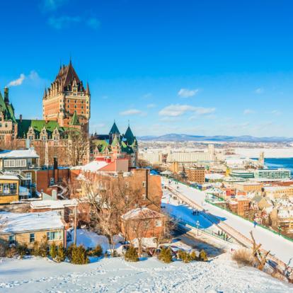 Voyage au Canada : Sur Les pentes de Ste-Anne et Du Massif