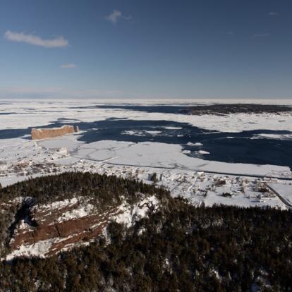 Séjour au Canada : Sur Les pentes de Ste-Anne et Du Massif