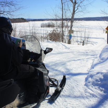 Voyage au Canada : Semaine Motoneige