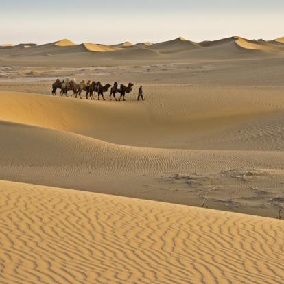 Voyage en Chine : Désert de Gobi et Route de la Soie