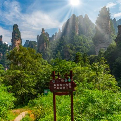 Circuit en Chine : Monts Embrumés de Zhangjiajie & Fenghuang authentique