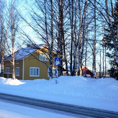 Voyage en Finlande : Levi à la carte