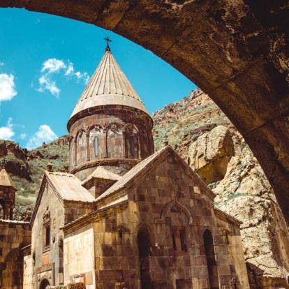 Voyage en Géorgie : Combiné Caucasien