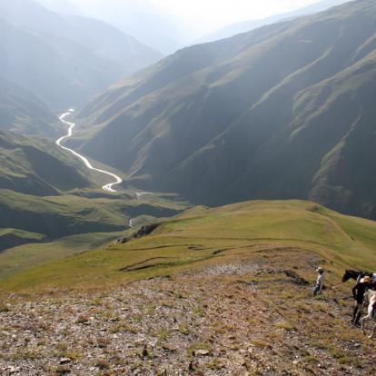 Voyage en Géorgie : Wild Tusheti