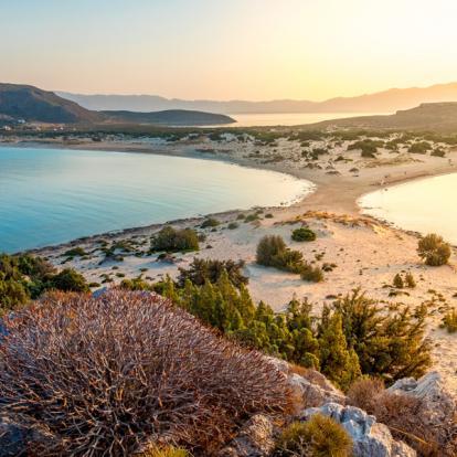 Circuit en Grèce : La Côte de Laconie... en Vélo