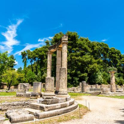 Circuit en Grèce : Visite Archéologique dans le Sud de la Grèce