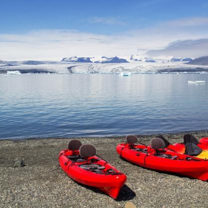 Séjour en Islande : Kayak dans les Fjords du Nord Ouest
