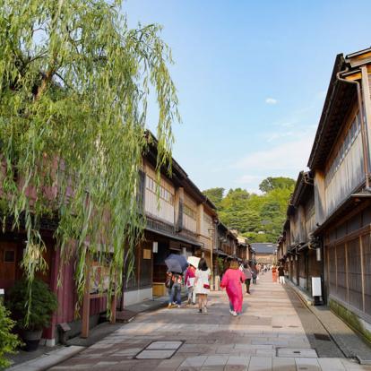 Circuit au Japon : Repos Luxueux au Japon