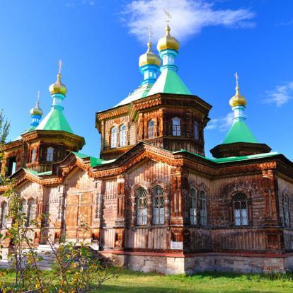 Voyage au Kirghizistan : Lac Issyk Kul, Perle d'Asie Centrale
