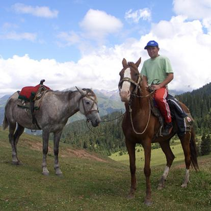 Randonnée Equestre au Kirghizistan : Tien Shan Equitation