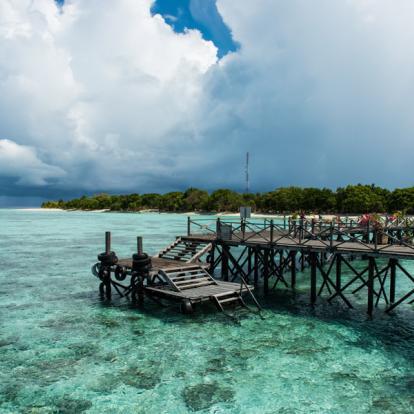 Circuit en Malaisie : Entre Paradis Vert & Mer Turquoise de Borneo