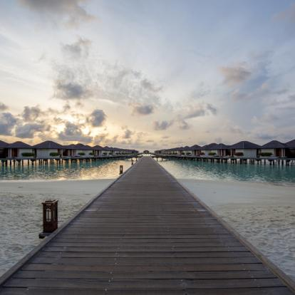 Voyage aux Maldives: Paradise Island Resort and Spa