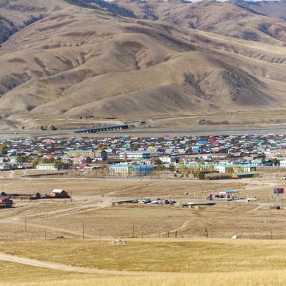 Circuit en Mongolie : Randonnée Equestre au lac de Khagiin Khar Nuur