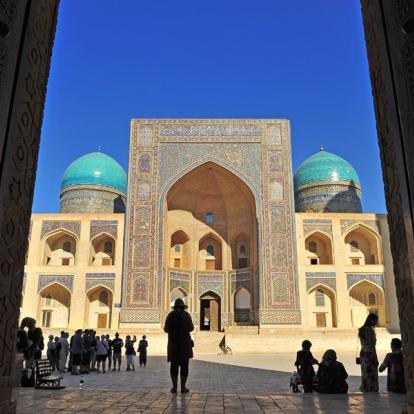 Circuit en Ouzbékistan : Au Pays des Dômes Bleus