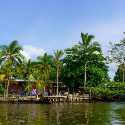 Circuit au Panama : D'île en île, Éventail de Bleu