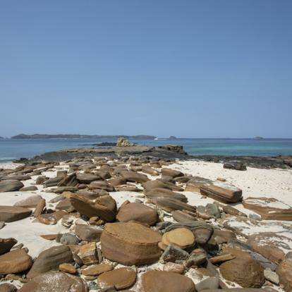 Voyage au Panama : D'île en île, Éventail de Bleu