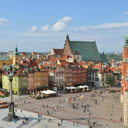 Voyage en Pologne : Cracovie et Varsovie, Deux capitales