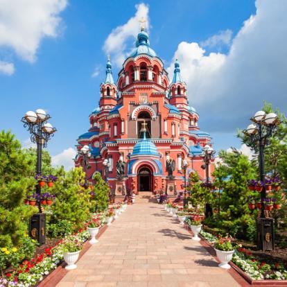 Circuit en Russie : Le lac Baïkal en passant par Moscou