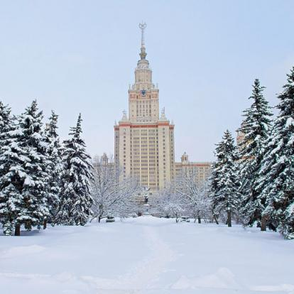 Voyage en Russie : Réveillons à Moscou et Saint-Pétersbourg