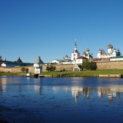 Circuit en Russie : Iles Solovki
