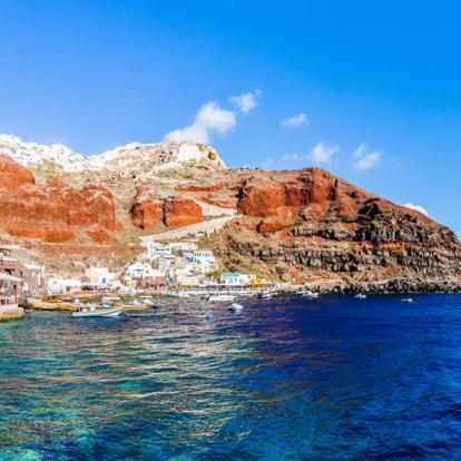 Voyage à Santorin : Séjour Célébration Sur Les Falaises De La Caldeira