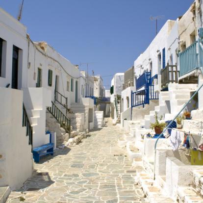 Voyage Cyclades : Terres Rocheuses En Mer Egée