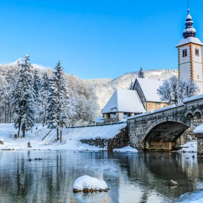 Voyage en Slovénie : Randonnée Raquette