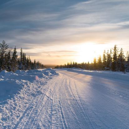 Voyage en Suède: Trek d'hiver dans le parc National de Sarek