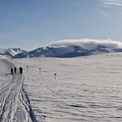 Circuit en Suède: Skis Nordiques en Laponie Suédoise