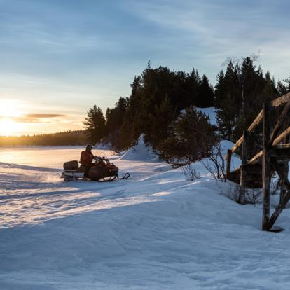 Voyage en Suède: Skis Nordiques en Laponie Suédoise