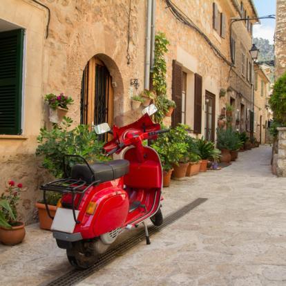 Voyage en Italie : Un petit tour en Vespa