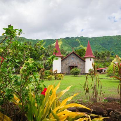 Séajour en Polynésie: Du bleu lagon de Moorea au vert sauvage des Marquises