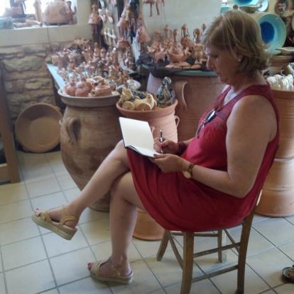 Séjour en Crète - Raconter la Crète, un pinceau à la main