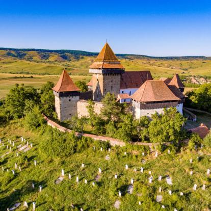 Circuit en Roumanie - En train en Transylvanie