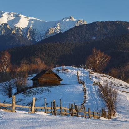Voyage en Roumanie : Randonnée raquettes