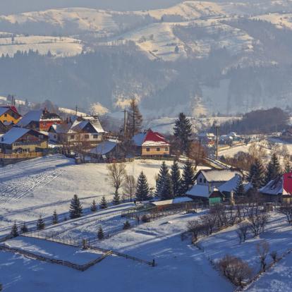 Circuit en Roumanie : Randonnée raquettes