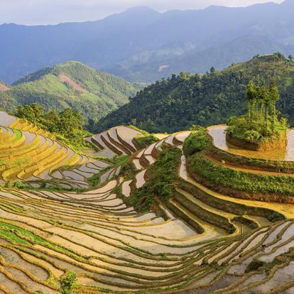 Circuit au Vietnam - Trek dans le Nord, Rizières et Villages Ethniques